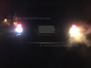 iJDM LED Reverse Light Installation Photo