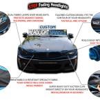 Headlightshades CUSTOM model Description