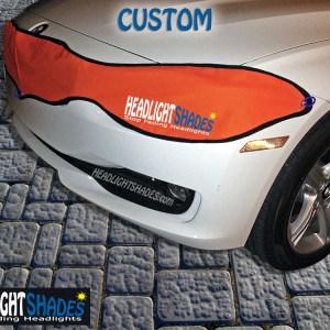 Custom BMW Headlight Shades