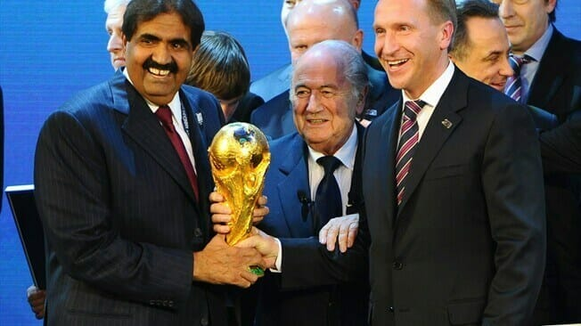 Russia and Qatar awarded 2018 and 2022 FIFA World Cups