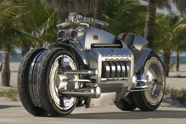 World Fastest Motorcycle-Dodge Tomahawk, 400 mph