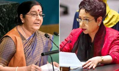 Pakistani diplomat Maleeha Lodhi responds to Sushma Swaraj
