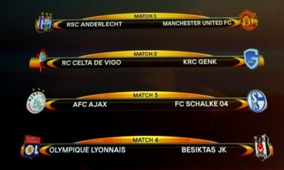 Europa League Final Draw