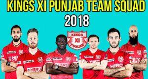 Kings XI Punjab - IPL 2018