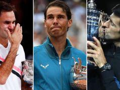 Federer, Nadal and Djokovic: