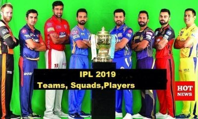 IPL 2019 ,Teams, squads ,Players