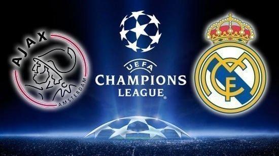 Real Madrid Vs Ajax Live Stream