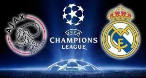 Real Madrid Ajax