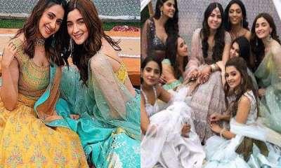 Alia Bhatt, Bridesmaid. Friends