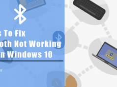 fix bluetooth windows 10