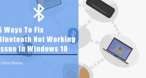 fix bluetooth windows 10