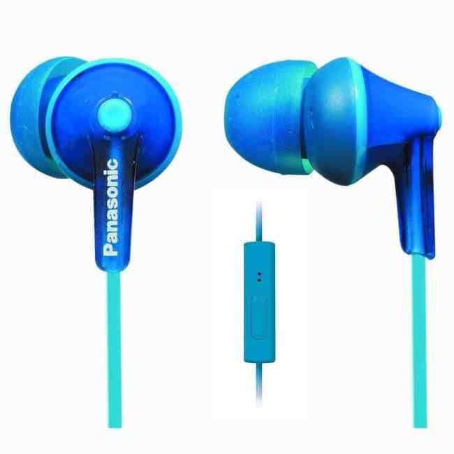 Panasonic ErgoFit In-Ear Earbuds Headphones with Mic/Controller RP-TCM125-A