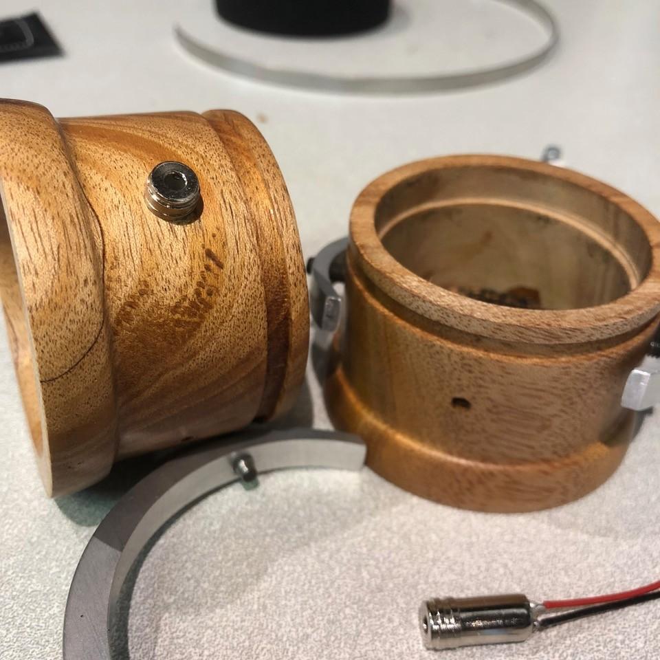 Shipibo Audio Mahogany wooden cups