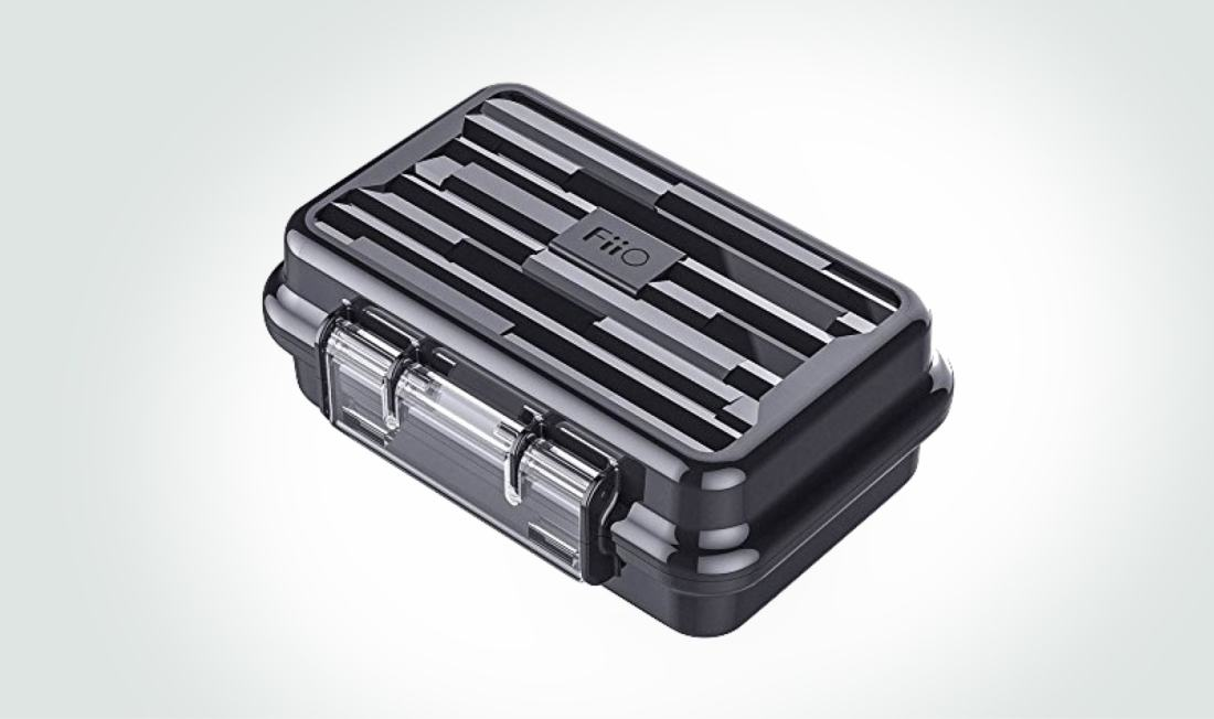 FiiO waterproof earphone hard carry case