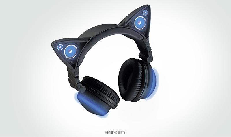 Brookstone Wireless Cat Ear Headphones