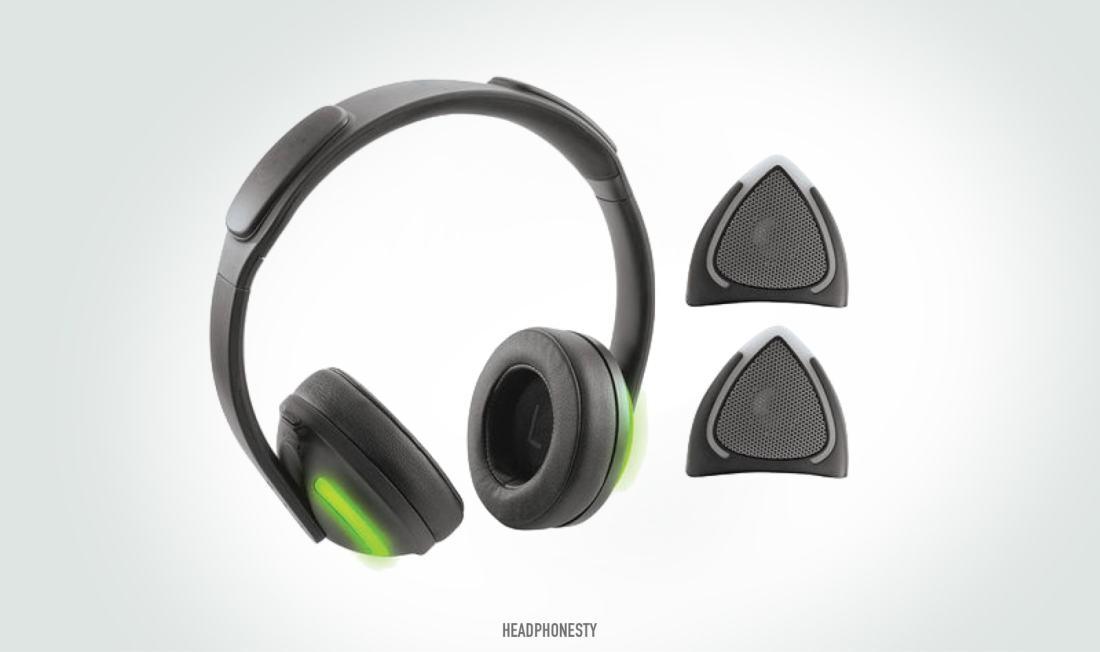 Brookstone Wireless Removable Cat Ear Headphones