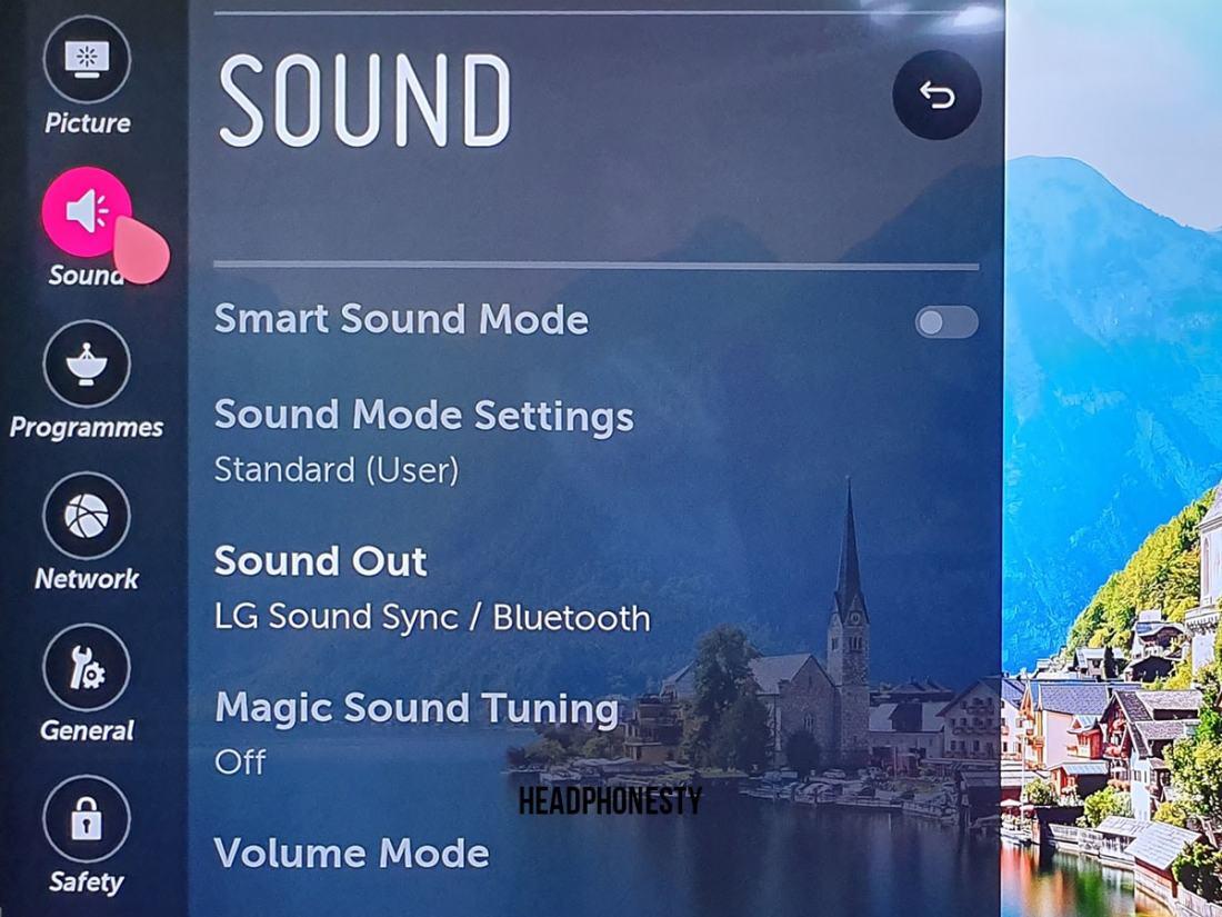 LG Bluetooth Setup 2