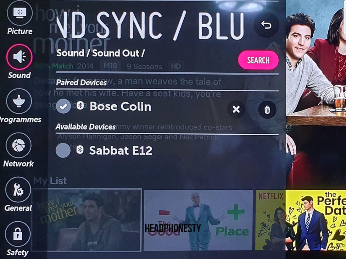 LG Bluetooth Setup 7