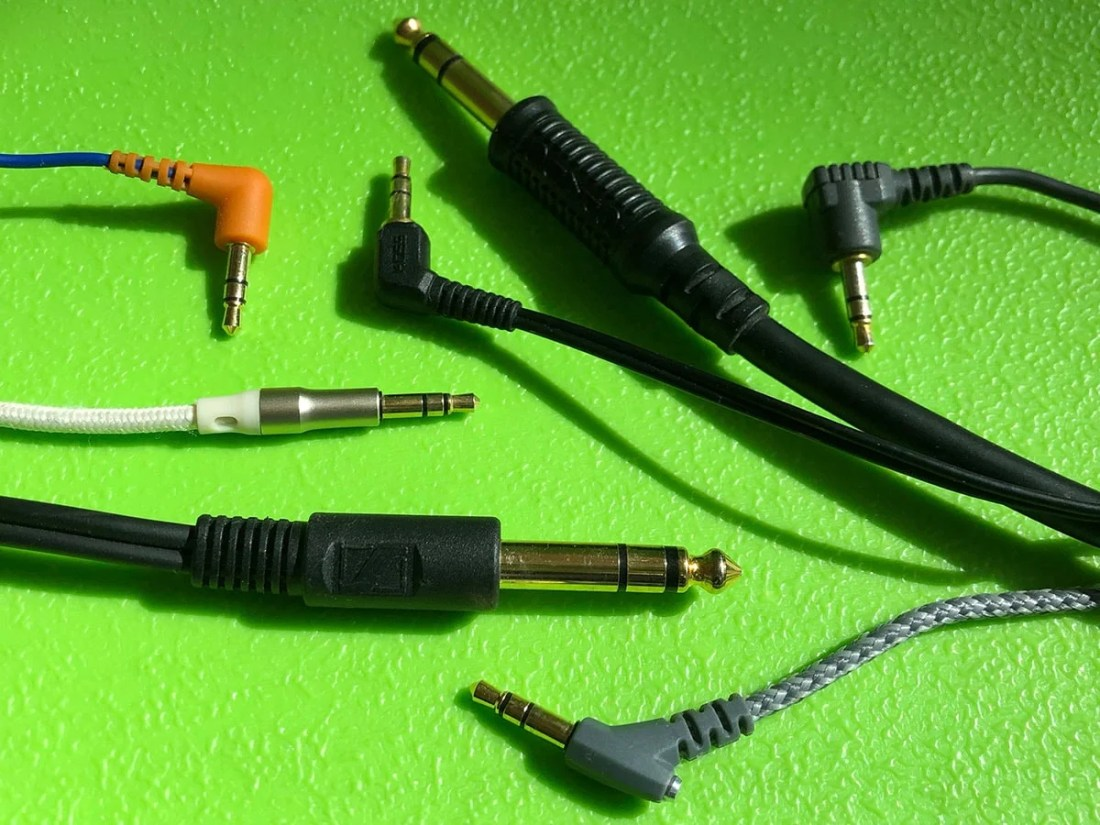 """The ubiquitous standard unbalanced TRS headphone jack in 3.5mm (⅛"""") and 6.35mm (¼"""")."""