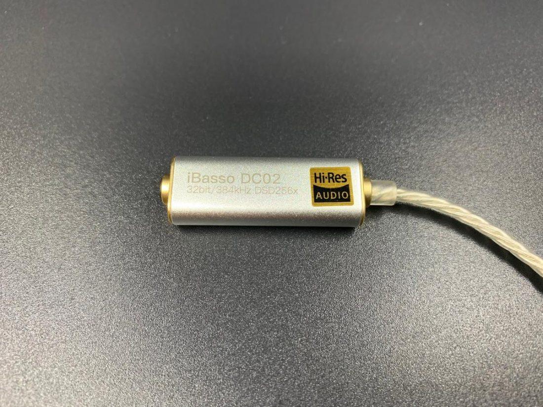 Hi-Res Audio Certified DC02