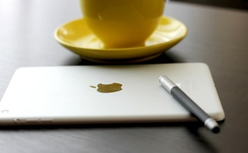 ipad pen coffee