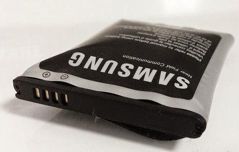 bateria de smartphone dañada