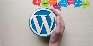 wordpress in different languages