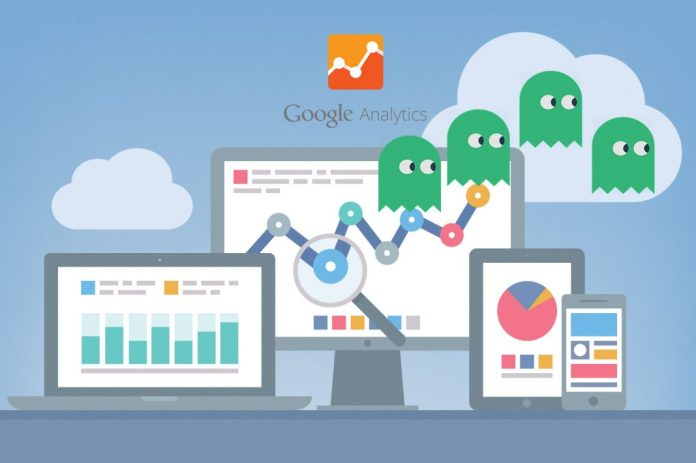 ghost spam en google analytics