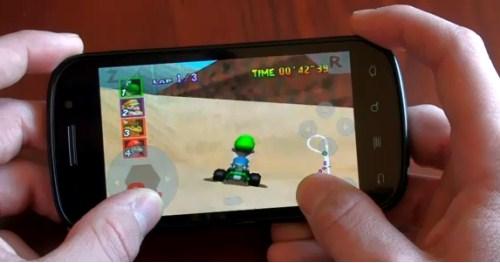 Mejores emuladores de nintendo para smartphones Android
