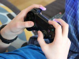 gamer video juego consola