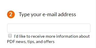email pdf converter