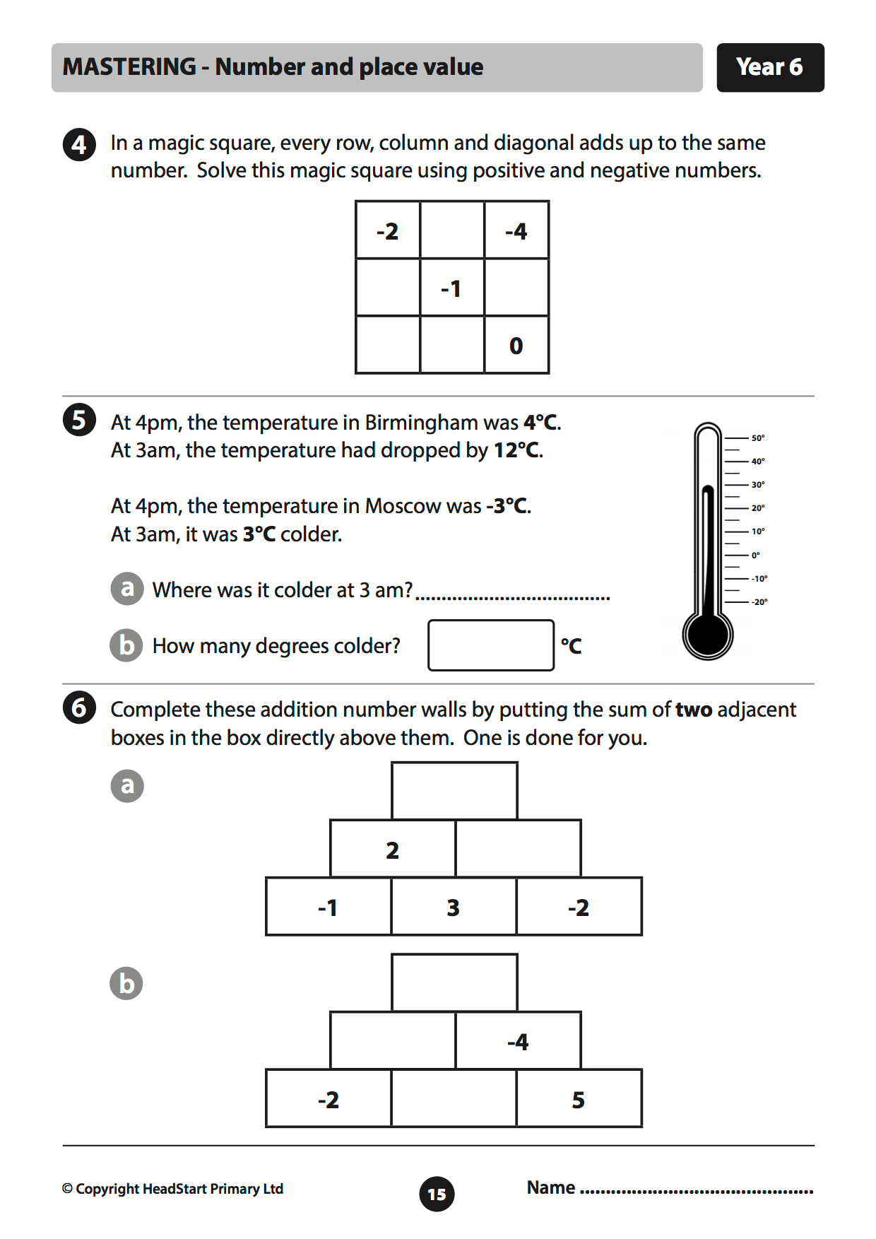 Problem Solving Year 6 Maths Problem Solving Worksheets
