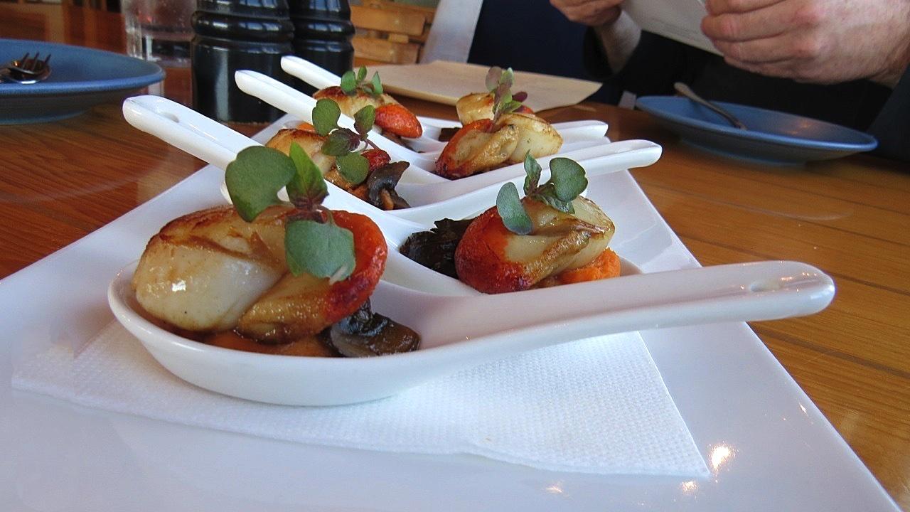 Hallams Seafood Restaurant Menu