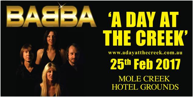 What's on in Launceston - A Day at the Creek - Babba