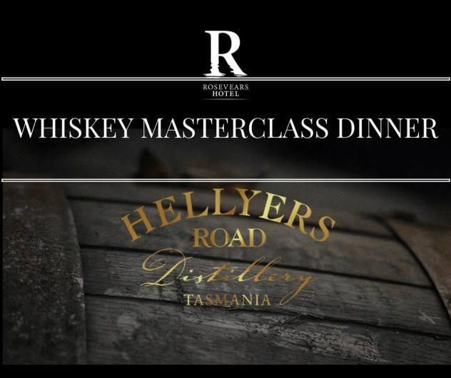 Whiskey Masterclass Dinner - Rosevears Hotel, Rosevears, Tasmania