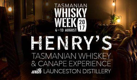 Tasmanian Whisky & Canapé Experience - Henry's Bar & Restaurant, Launceston