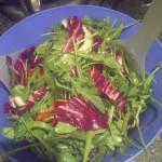 Arugula, Radiccho, Mint Salad