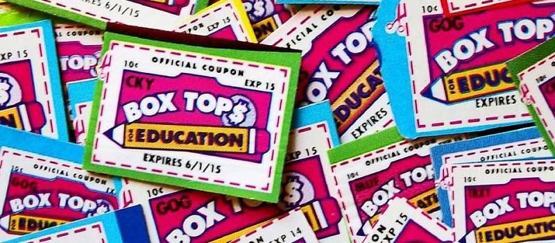 PTA Box Tops Challenge