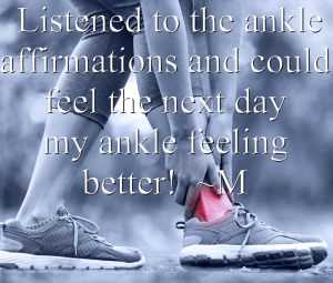 What Your Body Wants To Hear Ankle Pain Testimonial