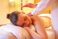 Massage relaxation woman