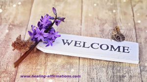 purple hyachinth welcome message