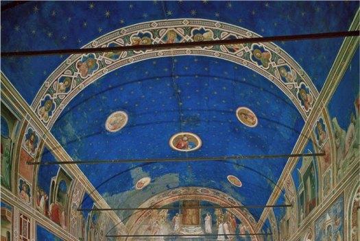 Giotto's masterpiece, the Scrovegni Chapel in Padua