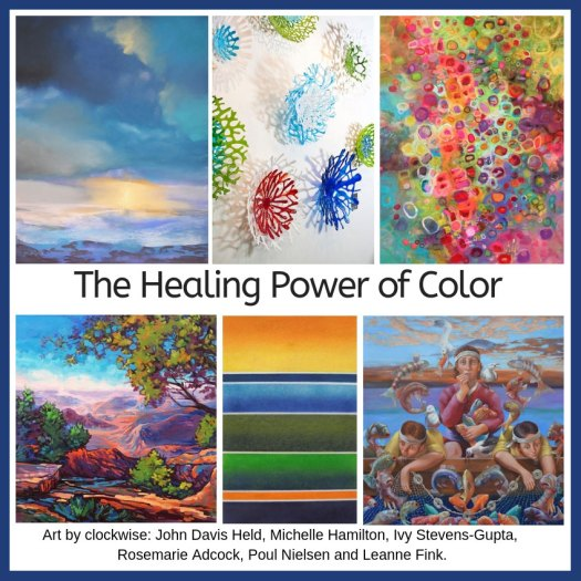 The Healing Power of Color exhibition