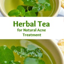 herbal tea for natural acne treatment