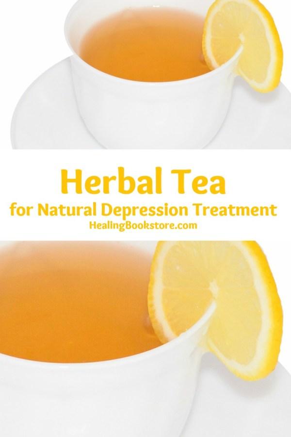 herbal tea for natural depression treatment