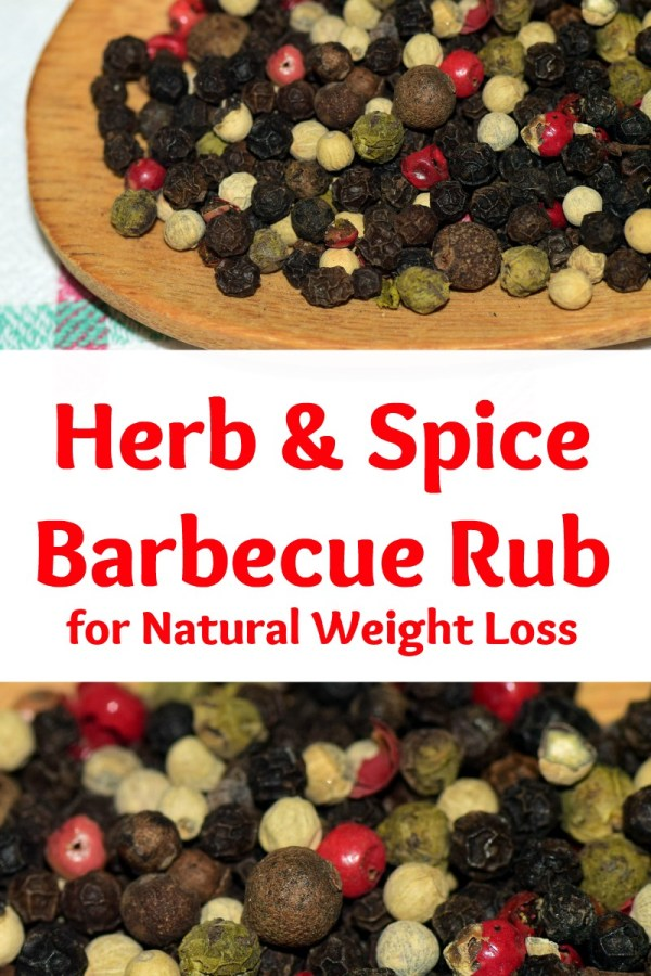 healthy herb and spice barbecue rub for natural weight loss