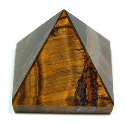 Pyramid - Golden Tiger Eye Pyramids