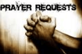 Online Email Prayer Request