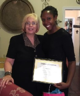 Lesna Holback - 2015 Graduation Class of Healing and Deliverance Certification