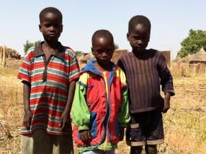 Children in the shamans village